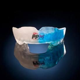 ppm half blue mouthguard